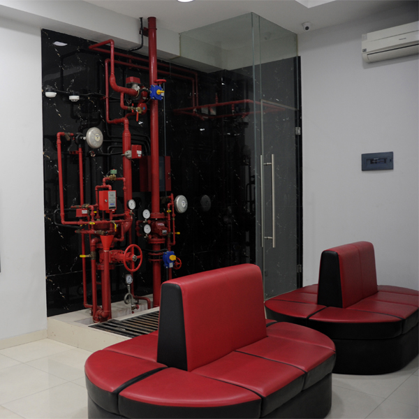 Fire Safety Control room